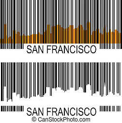 San Francisco barcode
