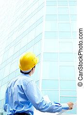 bâtiment, architecte