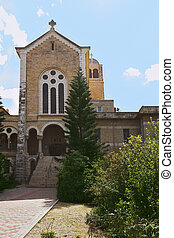 Well-known monastery Convent of Latroun