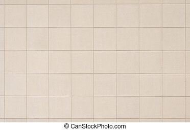 Beige tiled wall, perfect as a background