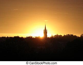 Sunrise Pouance