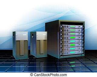 Hosting solutions - Different servers as hosting solutions...