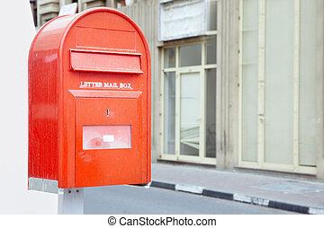 correio, caixa