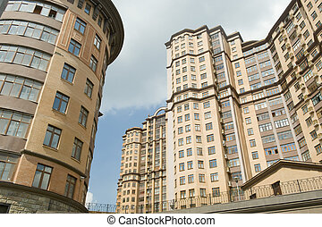 Moscow new building