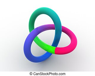 torus knot 3d