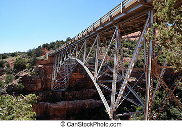 Midgley Bridge over Wilson Creek near Sedona Arizona