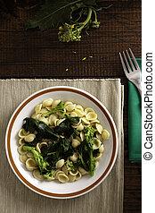 Orecchiette with Cime di Rapa, A Traditional Dish from...