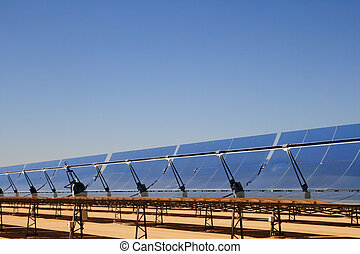 solar collectors - SEGS solar thermal energy electricity...