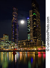 Downtown of Melbourne