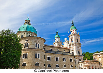 Cathedral in Salzburg, Austria