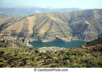 Lake in park Sierra Nevada, Spain