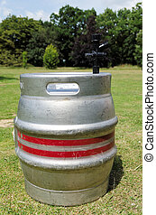 Beer Barrel - Empty beer barrel or keg