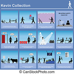 Kevin series graphics - A collection of Kevin series...