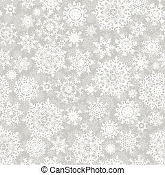 Christmas seamless pattern snowflake. EPS 8