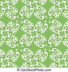 ornate vector seamless pattern