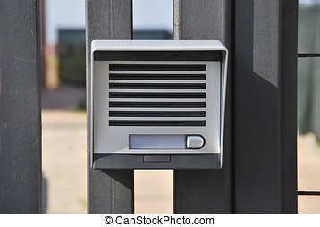 Intercom. Electronic device for intercommunication. Security...