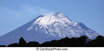 Popocatepetl Volcano - Popocatepetle Volcano, seen from the...