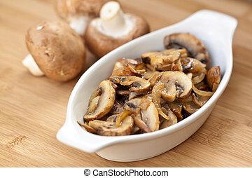 Mushrooms - Sauteed Mushrooms & Onions
