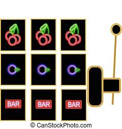 retro slot machine