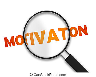 magnificar, vidro, palavra, motivação