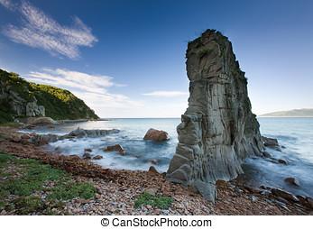 Russian, Primorye, beautiful sea rock - Russian Primorye...