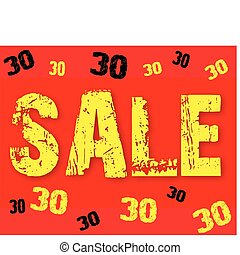 The text sale 30