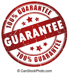 Guarantee stamp - Guarantee grunge stamp