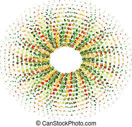 Abstract circle.