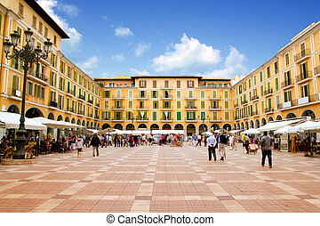 Majorca Plaza Mayor in Palma de Mallorca - Majorca Plaza...