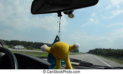 Car aroma. - Intresting car fresh smell aroma hung on the...