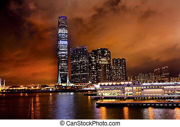 International Commerce Center ICC Building Kowloon Hong Kong...