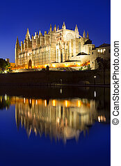 Cathedral of Majorca in Palma de Mallorca Balearic islands
