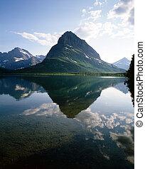 Glacier National Park - Swiftcurrent Lake, Glacier National...