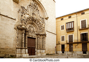 church of Montesion Monti Sion in Majorca at Palma de...