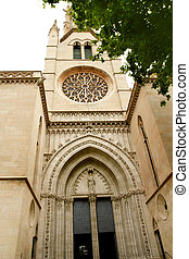 church of Santa Eulalia Majorca in Palma de Mallorca...