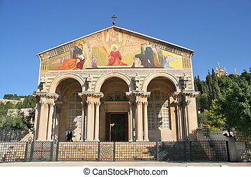Church of All Nations, Jerusalem, Israel. - Church of All...