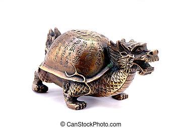 feng,  shui,  turtle-dragon