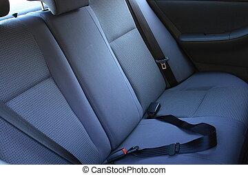 Car backseat