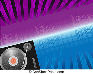 clubbing background - vector colorful clubbing background...