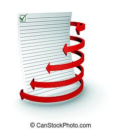 spiral schedule