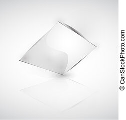 Abstract square banner
