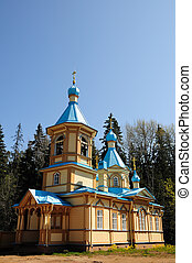 Island Valaam. The church at the Gethemane Skete - North...
