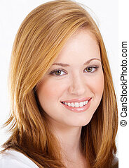 beautiful teen girl headshot - beautiful teen girl, headshot...