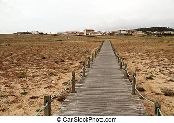 Catwalk of dune