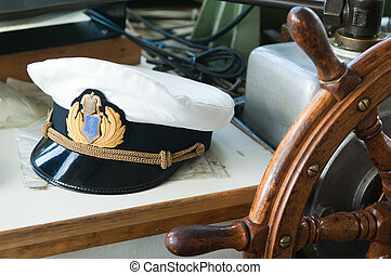 Workplace of the captain