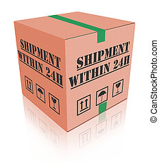 fast shipment - shipment within 24 hours, fast package...