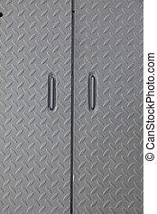 grunge industry metal door