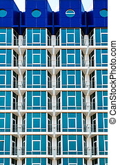 Abstract building - Abstraction and geometry building...