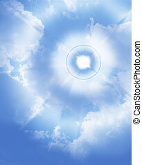 Deep blue sky Conceptual design