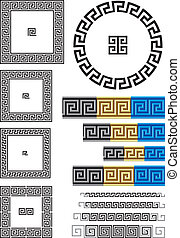 Greek key pattern - Borders and dividers created using...
